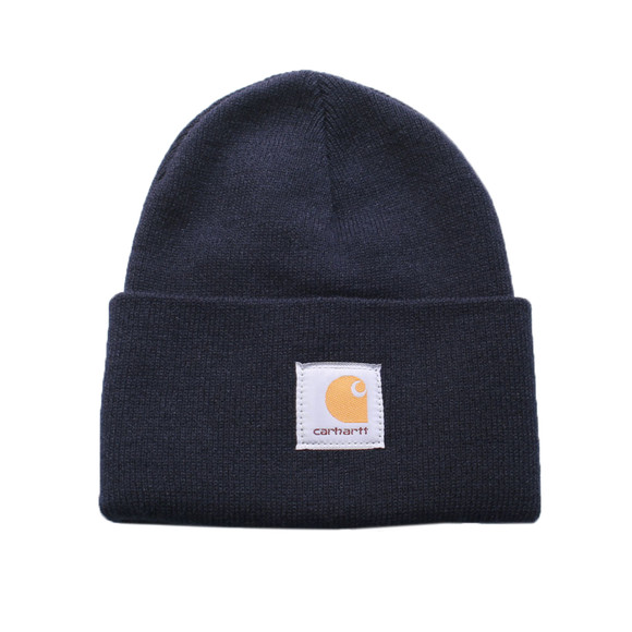 Carhartt WIP Mens Blue Carhartt Navy Watch Hat