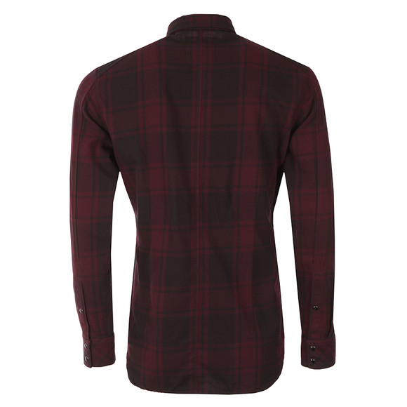 G-Star Mens Red Landoh L/S Check Shirt main image