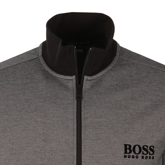 Boss Mens Black Small Logo Tracktop main image