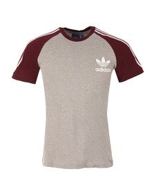 Adidas Originals Mens Grey California SS Tee
