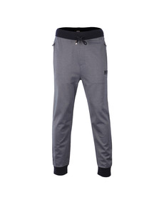 Boss Mens Blue Cuffed Trackpant