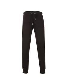 True Religion Mens Black Metal Horseshoe Sweatpant