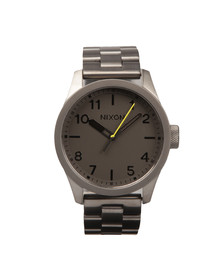 Nixon Mens Grey Safari Watch