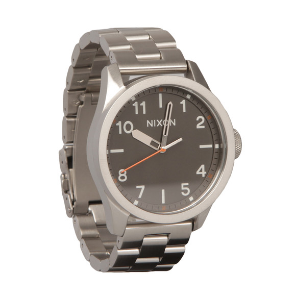 Nixon Mens Grey Safari Watch main image