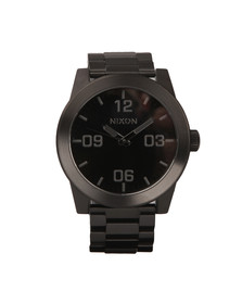 Nixon Mens Black Nixon Corporal SS Watch