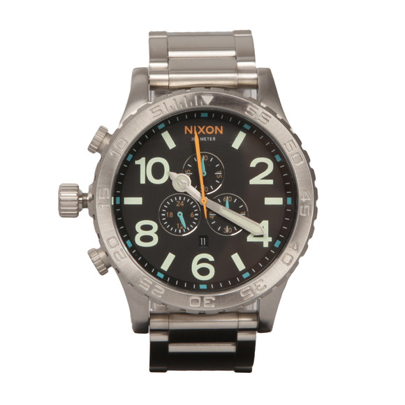 Nixon Mens Black The 51-30 Chrono main image