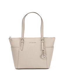 Michael Kors Womens Grey Jet Set East West Tote Bag