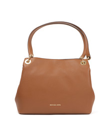 Michael Kors Womens Brown Raven Large Shoulder Tote Bag