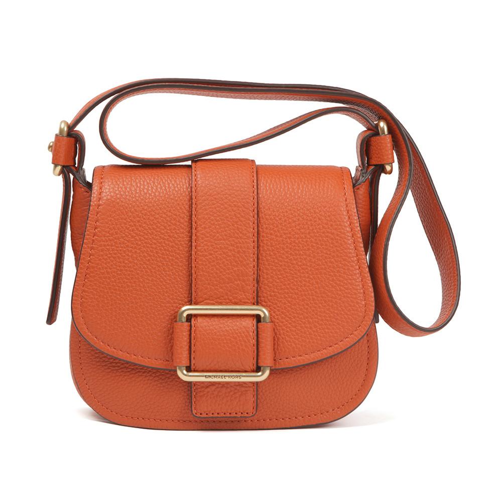 815fdffeedb3 Michael Kors Maxine Mid Saddle Bag