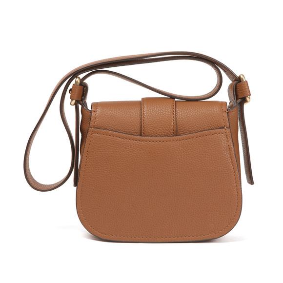 Michael Kors Womens Brown Maxine Mid Saddle Bag main image