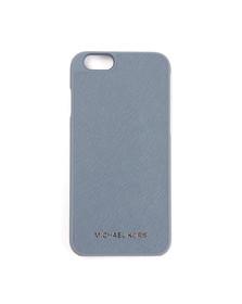 Michael Kors Womens Blue Saffiano iPhone 6 Cover