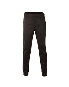 EA7 Emporio Armani Mens Black Large Logo Tricot Track Pant