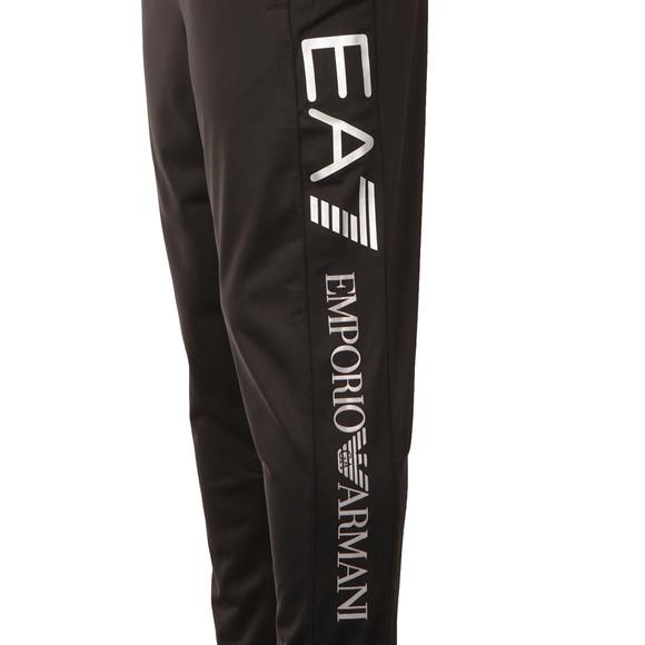 EA7 Emporio Armani Mens Black Large Logo Tricot Track Pant main image