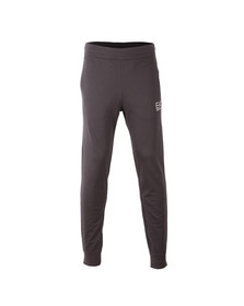 EA7 Emporio Armani Mens Grey Small Logo Sweatpant