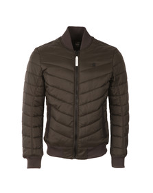 G-Star Mens Grey Meefic Bomber