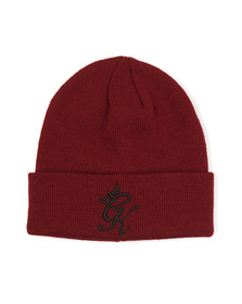 Gym king Mens Red Beanie