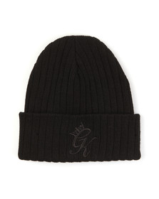 Gym king Mens Black Beanie