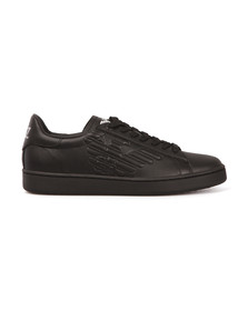 EA7 Emporio Armani Mens Black New Classic Trainer