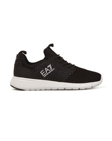 EA7 Emporio Armani Mens Black New Racer Mesh Trainer