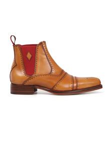 Jeffery West Mens Brown Dexter Point Boot