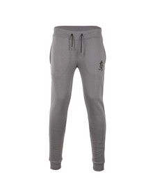 Gym king Mens Grey Core Tracksuit Bottoms