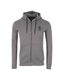 Gym king Mens Grey Core Tracksuit Top