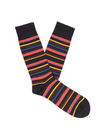 Gant Mens Blue Multistripe Sock
