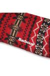 Barbour Lifestyle Mens Red Castleside Sock