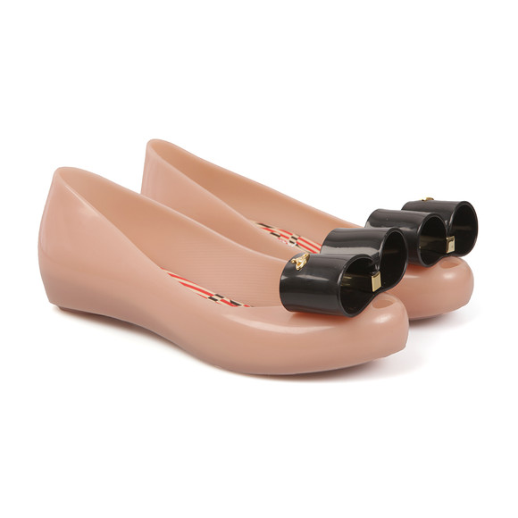 Vivienne Westwood Anglomania X Melissa Womens Pink Ultragirl 17 Bow Shoe main image