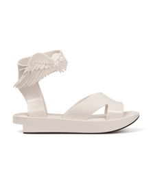 Vivienne Westwood Anglomania X Melissa Womens White Rocking Horse Sandal