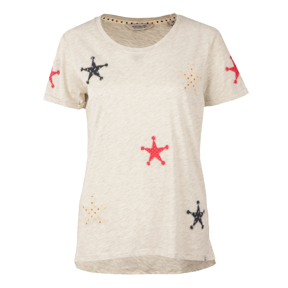 Patched Stars Tee main image