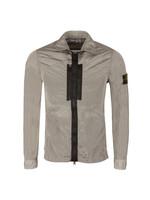 Crinkle Zip Overshirt