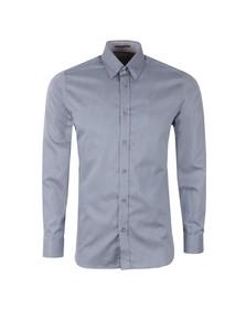 Ted Baker Mens Blue Polserf L/S Printed Geo Shirt