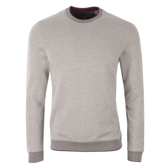 Ted Baker Mens Grey Jax L/S Crew Neck Sweat main image