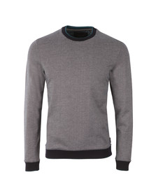 Ted Baker Mens Blue Jax L/S Crew Neck Sweat