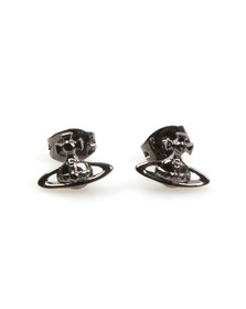 Vivienne Westwood Womens Grey Lorelei Stud Earrings
