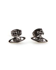 Vivienne Westwood Womens Grey Lorelei Stud Earrings