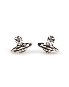 Vivienne Westwood Womens Silver Jack Enamel Earrings