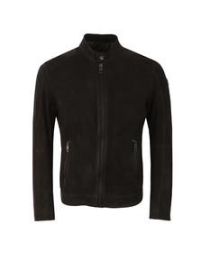 Boss Orange Mens Black Jonate Leather Jacket