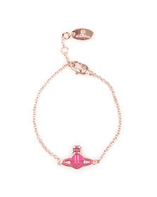 Vivienne Westwood Womens Pink Kate Bracelet