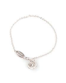 Vivienne Westwood Womens Silver Nicolette Orb Bracelet