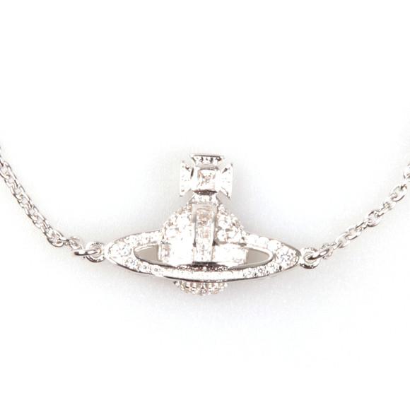 Vivienne Westwood Womens Silver Clotilde Orb Bracelet main image