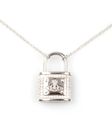 Vivienne Westwood Womens Silver Darianne Small Necklace