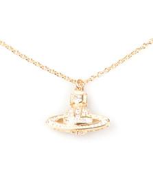 Vivienne Westwood Womens Gold Clotilde Orb Pendant