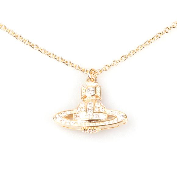 Vivienne Westwood Womens Gold Clotilde Orb Pendant main image
