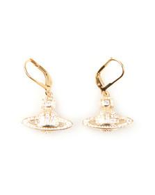 Vivienne Westwood Womens Gold Clotilde Orb Earrings