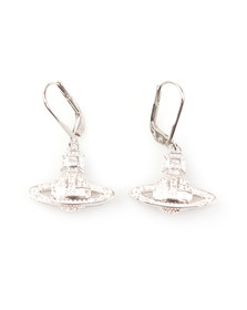 Vivienne Westwood Womens Silver Clotilde Orb Earrings