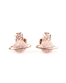 Vivienne Westwood Womens Pink Tamia Earrings