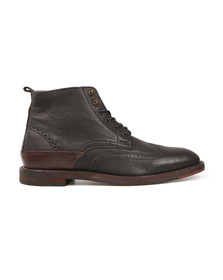 H By Hudson Mens Black Harland Boot