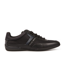 Boss Green Mens Black Space Low Trainer